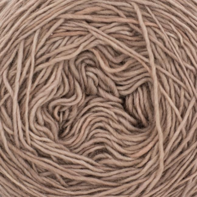 Cowgirl Blues Merino Single Lace solids Cocoa