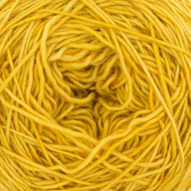Cowgirl Blues Merino Single Lace solids Mustard