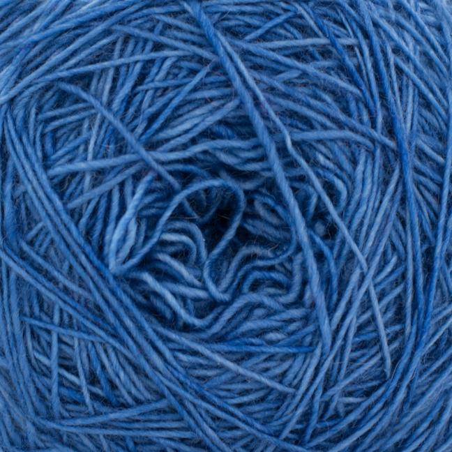 Cowgirl Blues Merino Single Lace solids Tanzanite