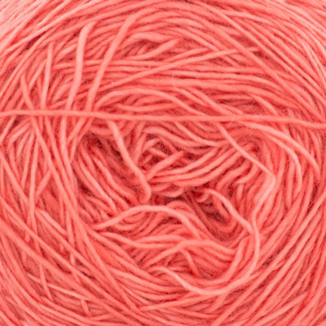 Cowgirl Blues Merino Single Lace solids Ruby Grapefruit