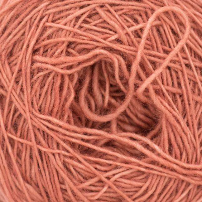 Cowgirl Blues Merino Single Lace solids Terracotta