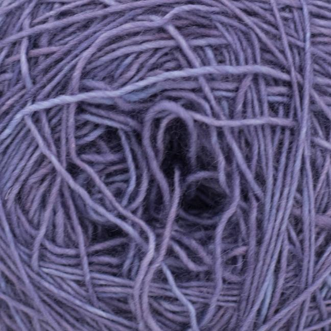 Cowgirl Blues Merino Single Lace solids Aubergine