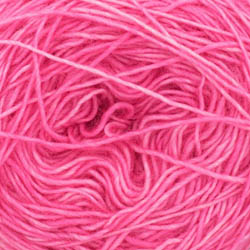 Cowgirl Blues Merino Single Lace solids Hot Pink