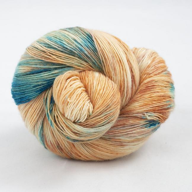Cowgirl Blues Merino Single Lace Farbverlauf  Shorebreak Sunset
