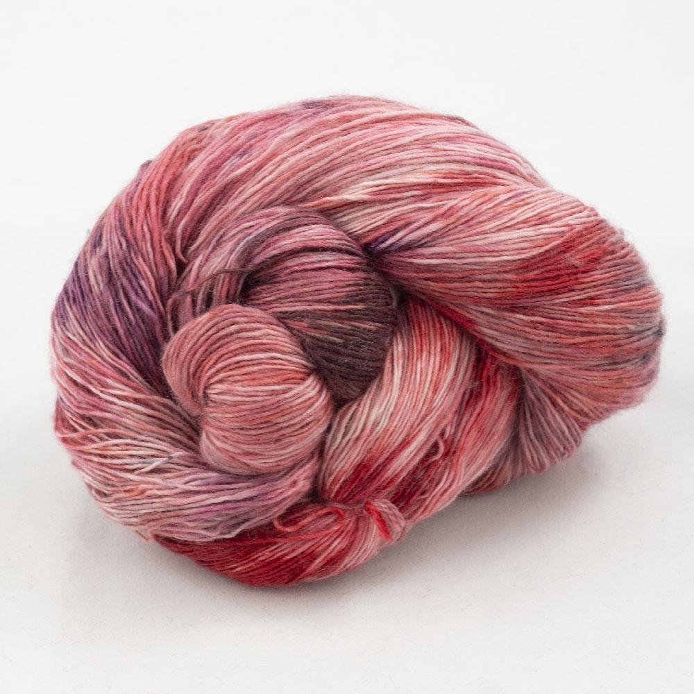 Cowgirl Blues Merino Single Lace Farbverlauf  Protea Pinks
