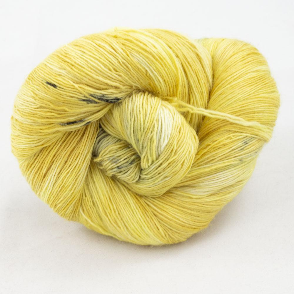 Cowgirl Blues Merino Single Lace Farbverlauf Limoncello