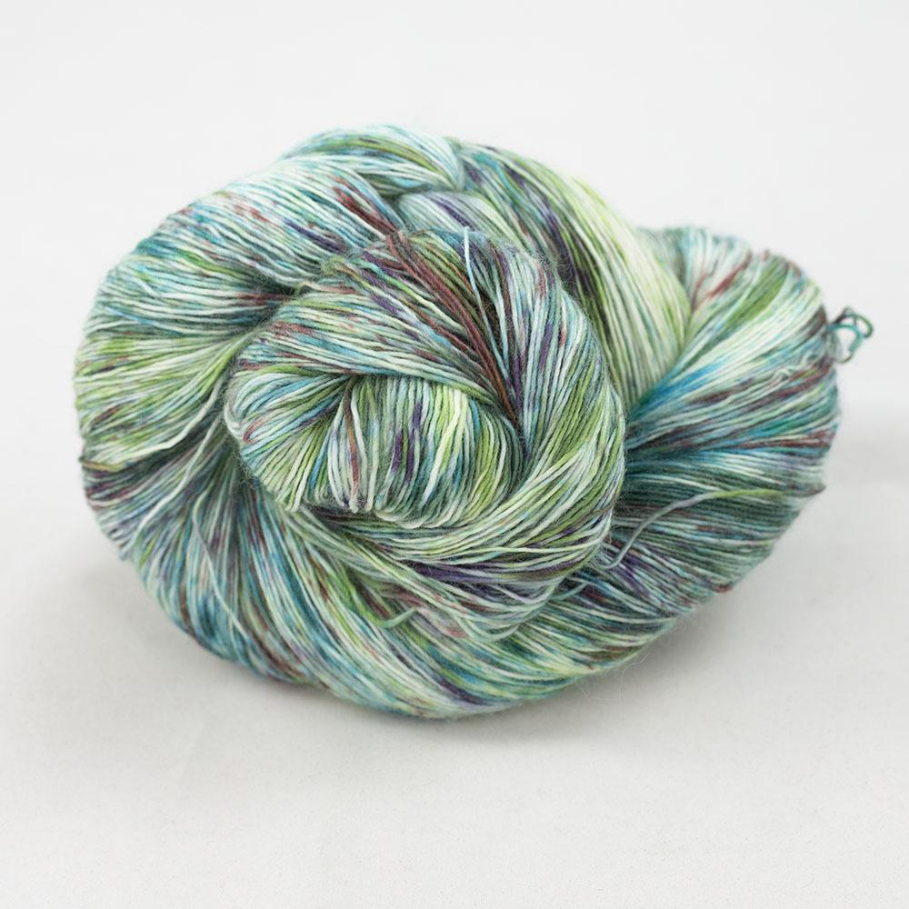Cowgirl Blues Merino Single Lace Farbverlauf 100g Karma Chameleon