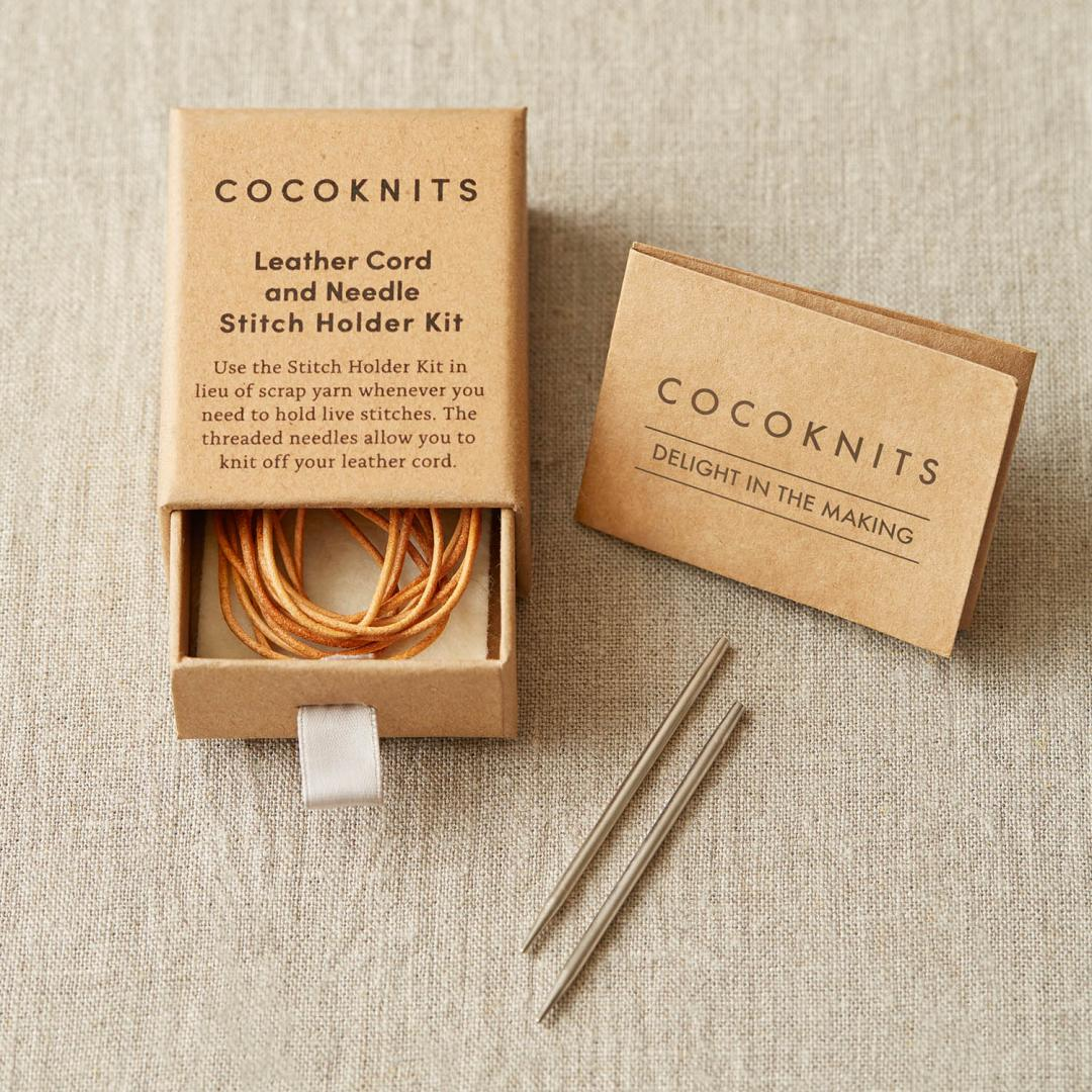CocoKnits Leather Cord and Needle Kit