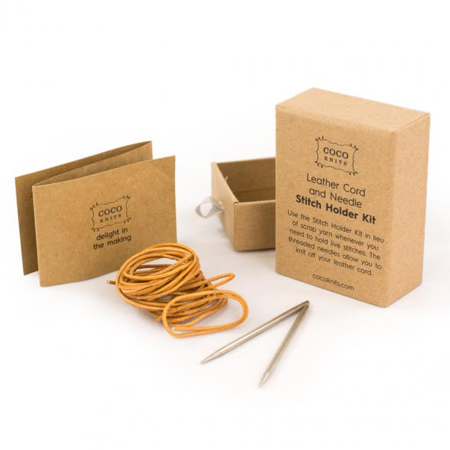 Leather Cord and Needle Kit